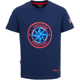 TROLLKIDS Windrose T-shirt Kinderen, navy